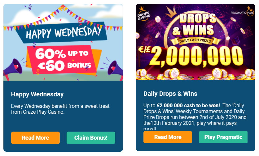 Finns bonusar varje vecka i casino utan svensk licens