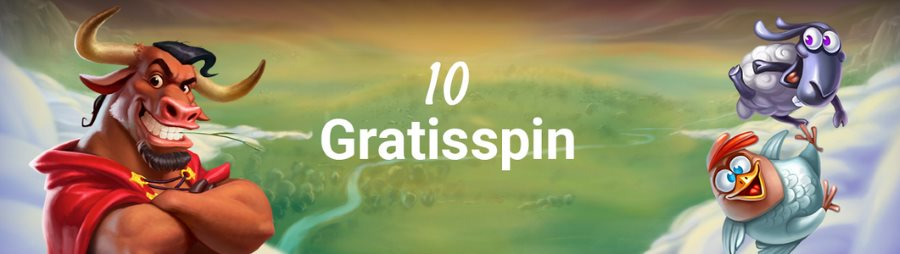 10 gratisspin