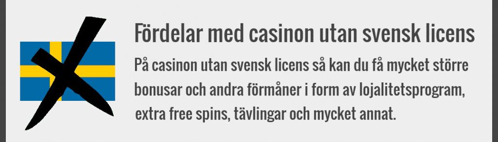 Hur vet jag om casinot riktar sig till svenska spelare?