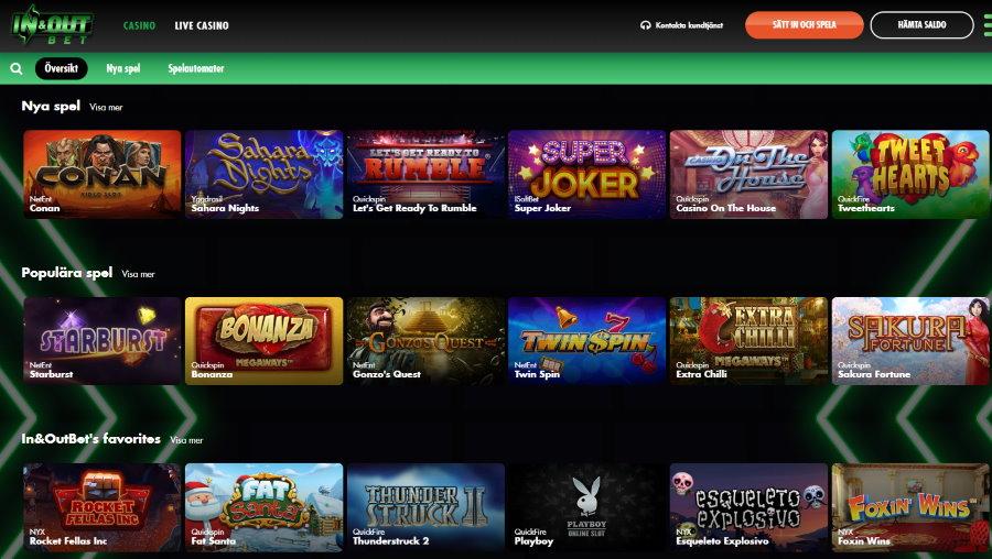 Fler casino stänger i Sverige