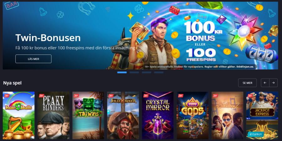 Twin Casino stänger i Sverige