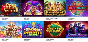 Annorlunda slots i casinon utan svensk licens